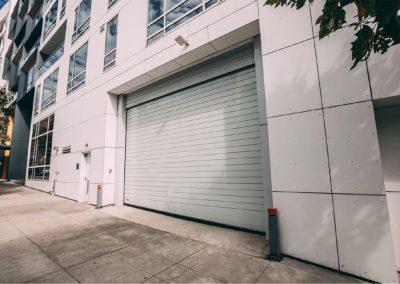 Installed steel rolling door in San Francisco