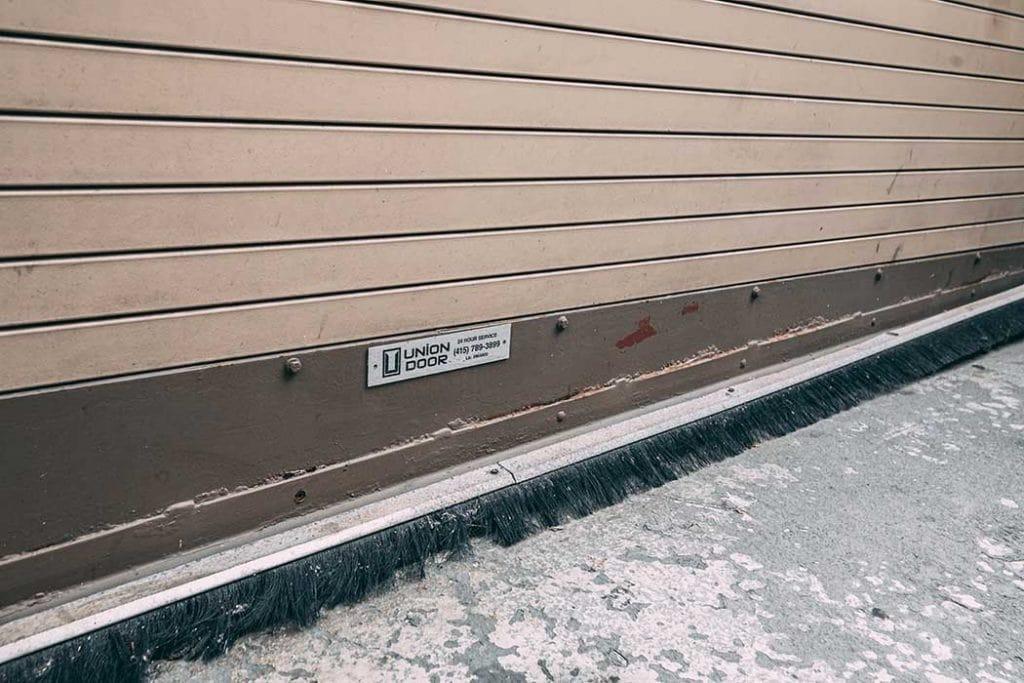 Commercial door installed by Union Door