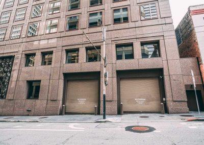 Loading zone to building in San Francisco