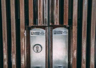 Commercial doors, locks, and handles installed by Union Door