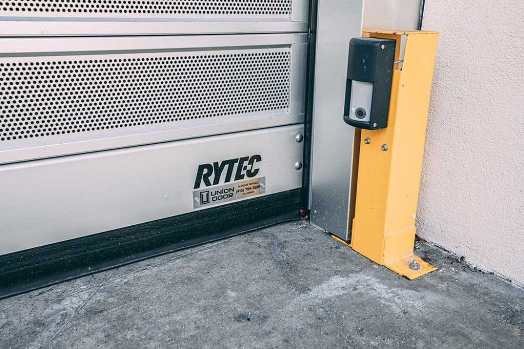 Rytec commercial door installed by Union Door