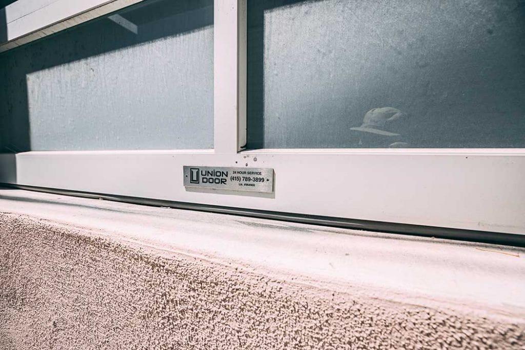Glass panel door installed by Union Door
