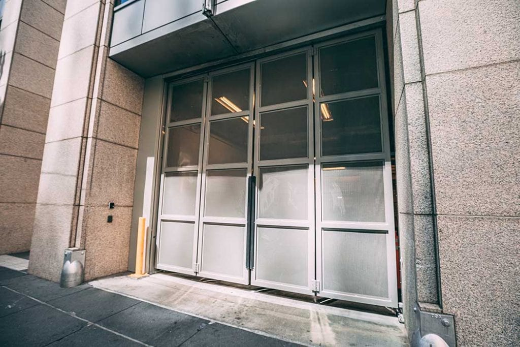 Automatic commercial doors installed by Union Door